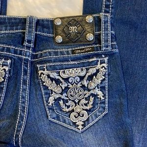 Miss Me Girls Jeans Embellished Back Pockets